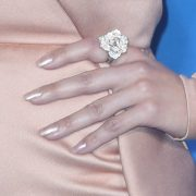 celebrity squoval shaped nails