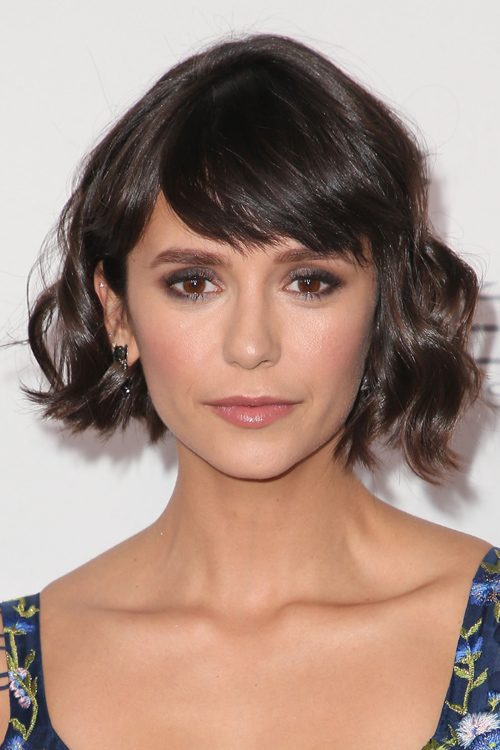 379 Celebrity Sideswept Bangs Hairstyles Steal Her Style