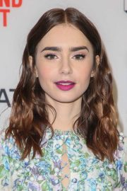 lily collins hairstyles & hair