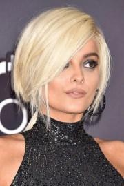 bebe rexha straight platinum blonde