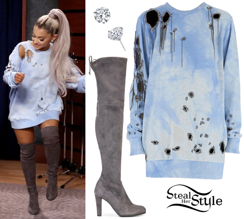 Image Result For Ariana Grande Side To Side Outfits