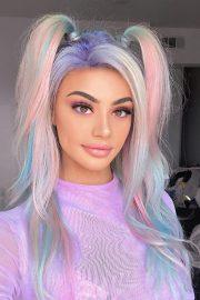 celebrity rainbow hairstyles
