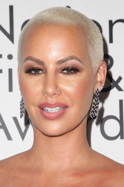 Amber Rose New Haircut : amber, haircut, Amber, Rose's, Hairstyles, Colors, Steal, Style