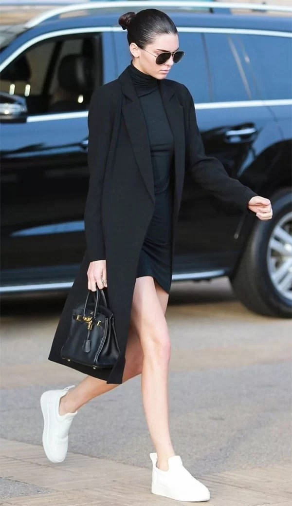 Street style look Kendall Jenner