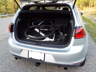 Most often, I carry just one bike; it fits in the hatch just fine with the front wheel removed...