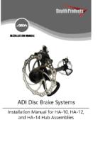 HA-10, -12, and -14 Installation Manual