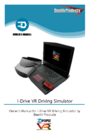 i-Drive VR Driving Simulator Owner's Manual
