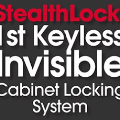 Kitchen Cabinet Locks Wholesale Appliances What Is Stealthlock The 1st Keyless Invisible Locking System Photos