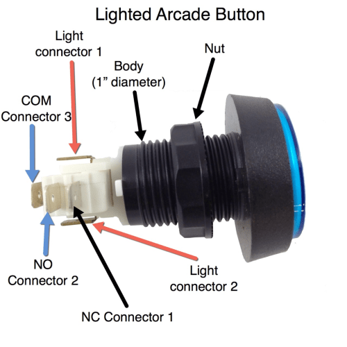 small resolution of arcade button wiring diagram
