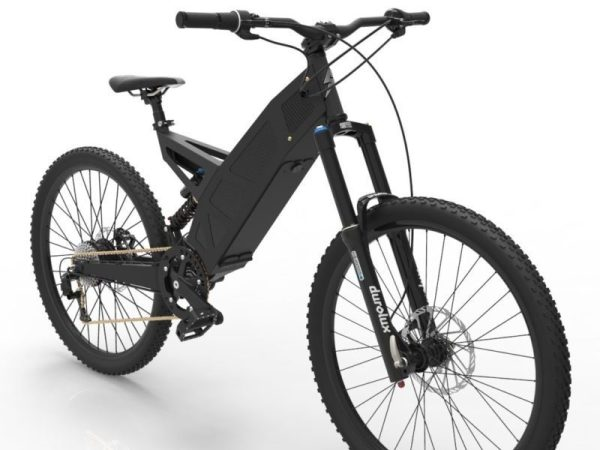 P-7 Stealth Bike Black