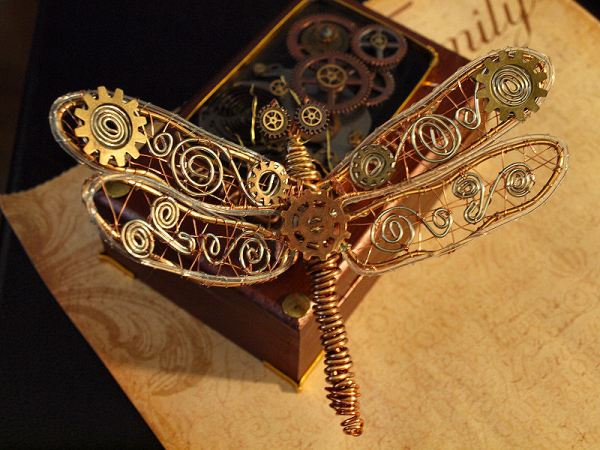 steampunk dragonfly 2