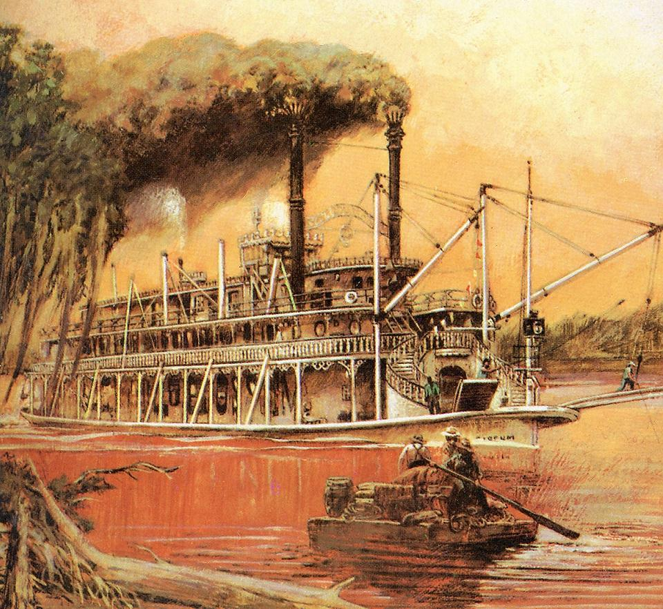 Steamboats Com Online Museum Dave Thomson Wing