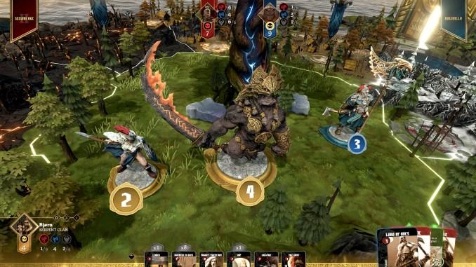 Blood Rage: Digital Edition Screenshot 2