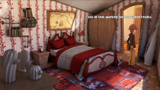 Willy Morgan and the Curse of Bone Town screenshot 1