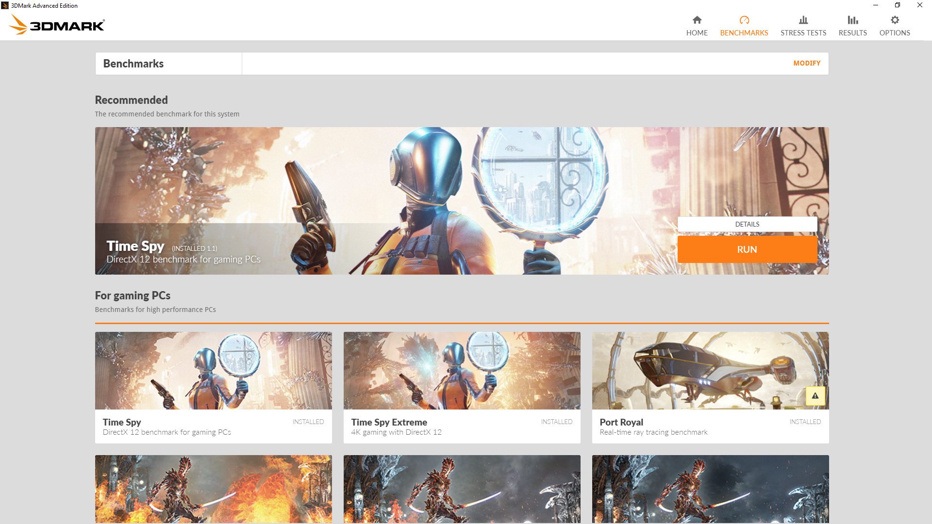 3DMark on Steam
