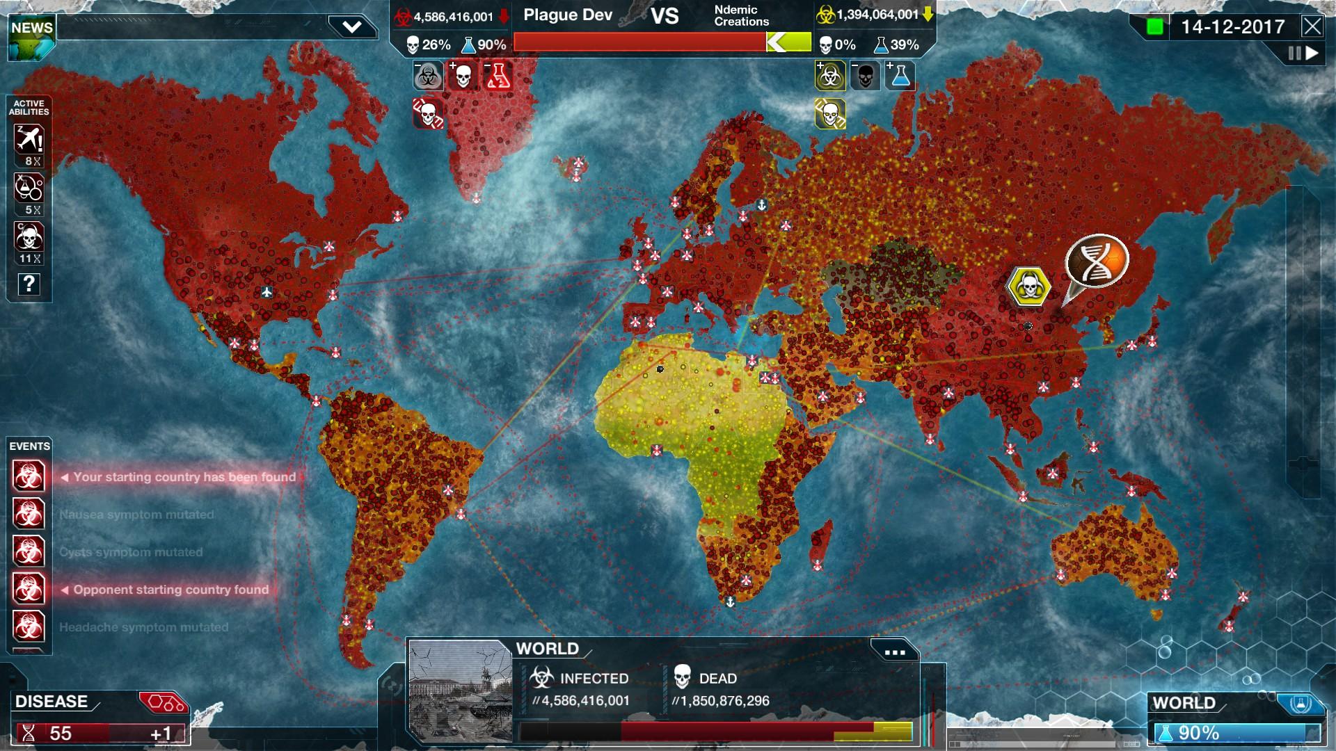 Plague Inc: Evolved on Steam