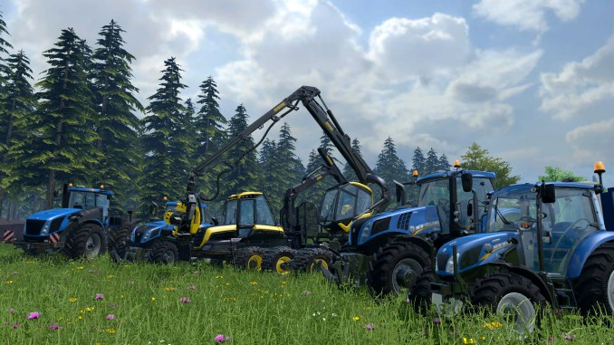 Farming Simulator 15 Screenshot 2