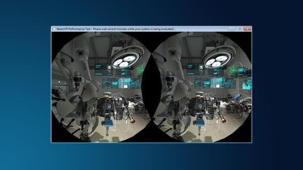 SteamVR Performance Test Screenshot