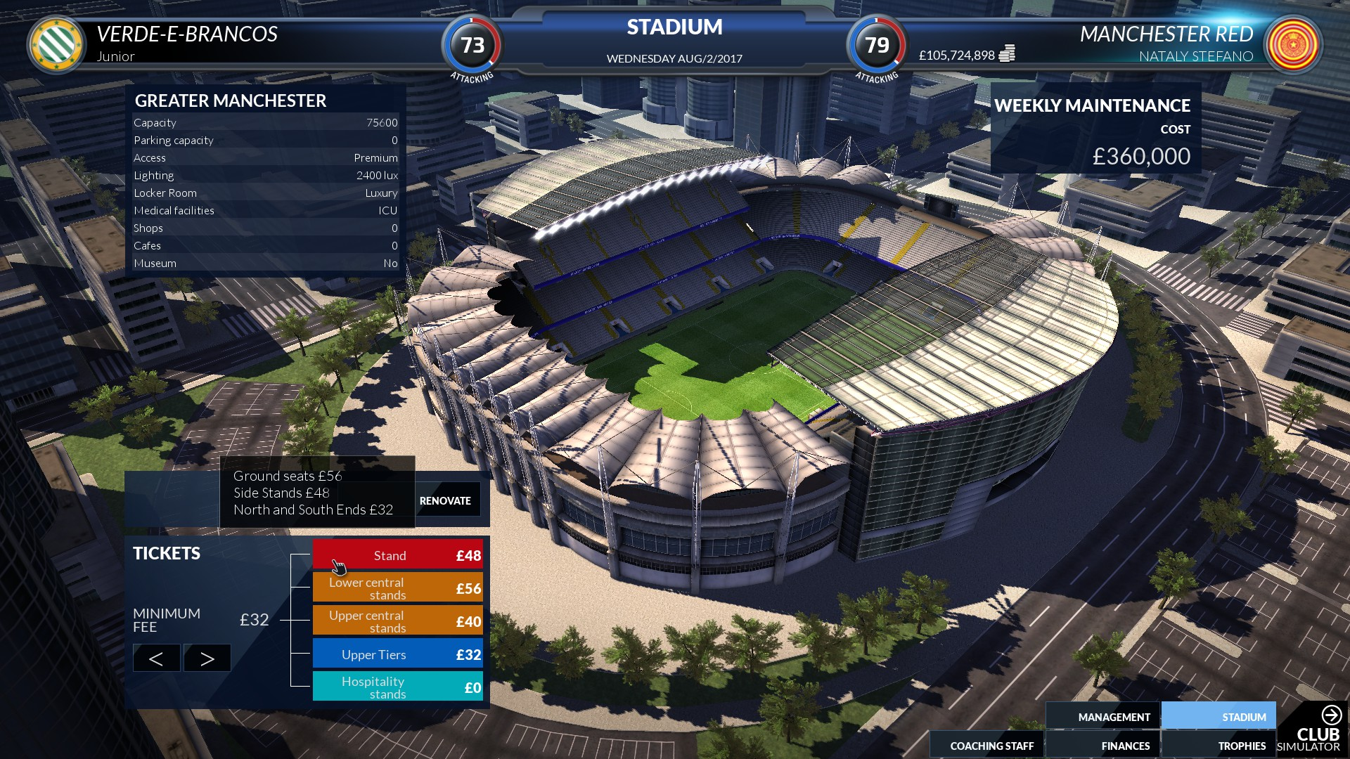 football club simulator fcs