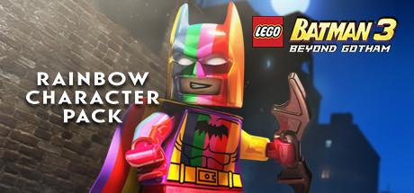 Lego Batman 3 Beyond Gotham Dlc Rainbow Character Pack