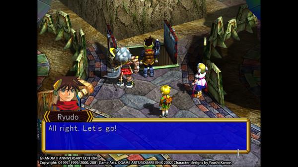 Grandia® II Anniversary Edition Screenshot