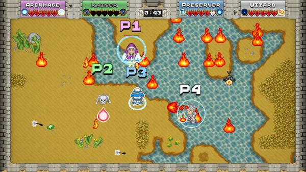 Grand Class Melee 2 Screenshot