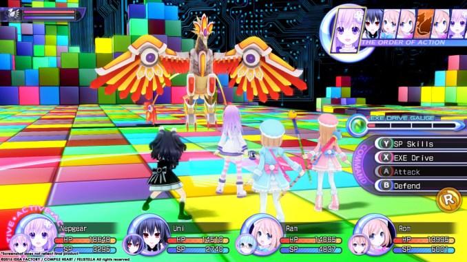 Hyperdimension Neptunia Re;Birth2: Sisters Generation Screenshot 2