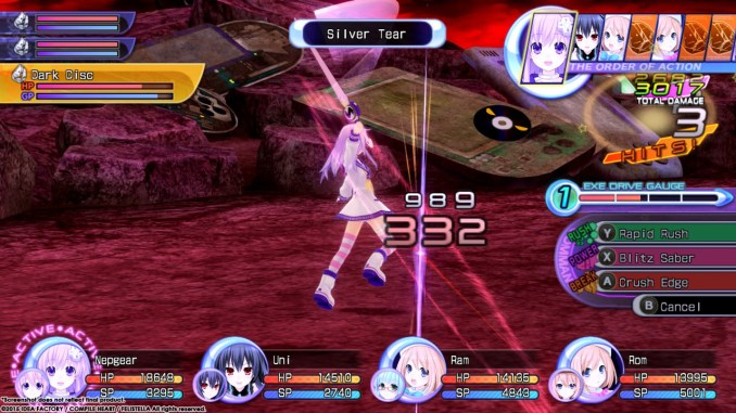Hyperdimension Neptunia Re;Birth2: Sisters Generation Screenshot 3