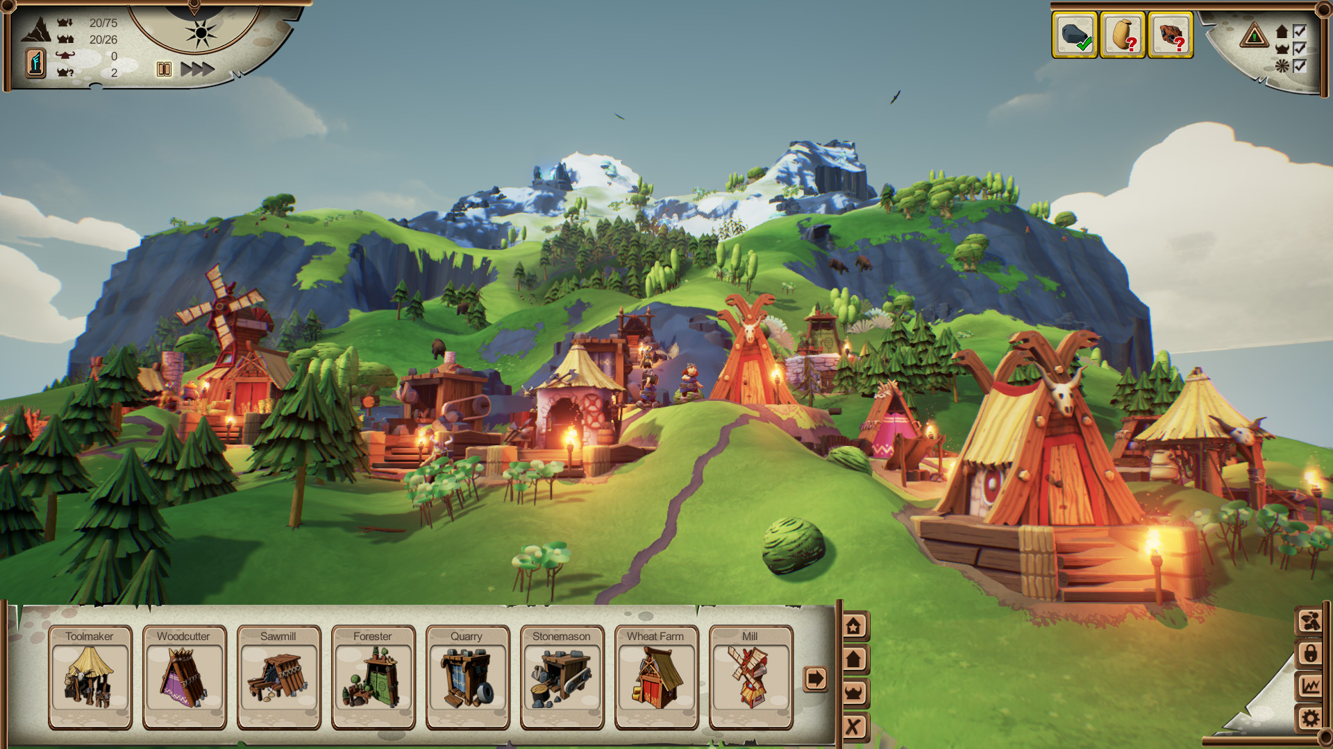 Valhalla Hills screenshot 2