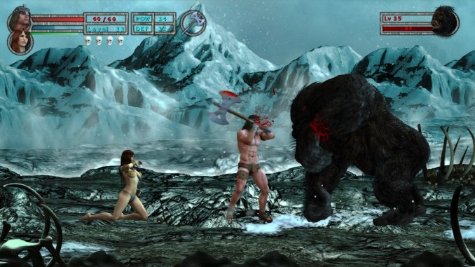 Age of Barbarian Extended Cut Screenshot 1