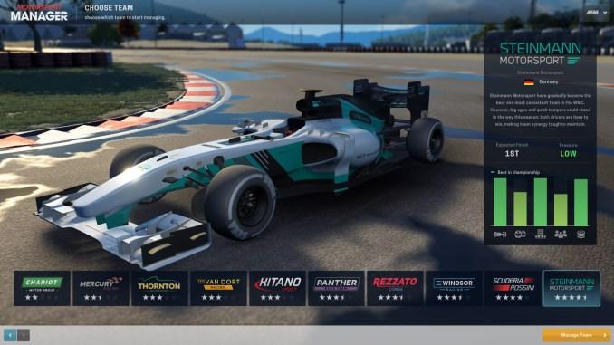 Motorsport Manager Screenshot 1