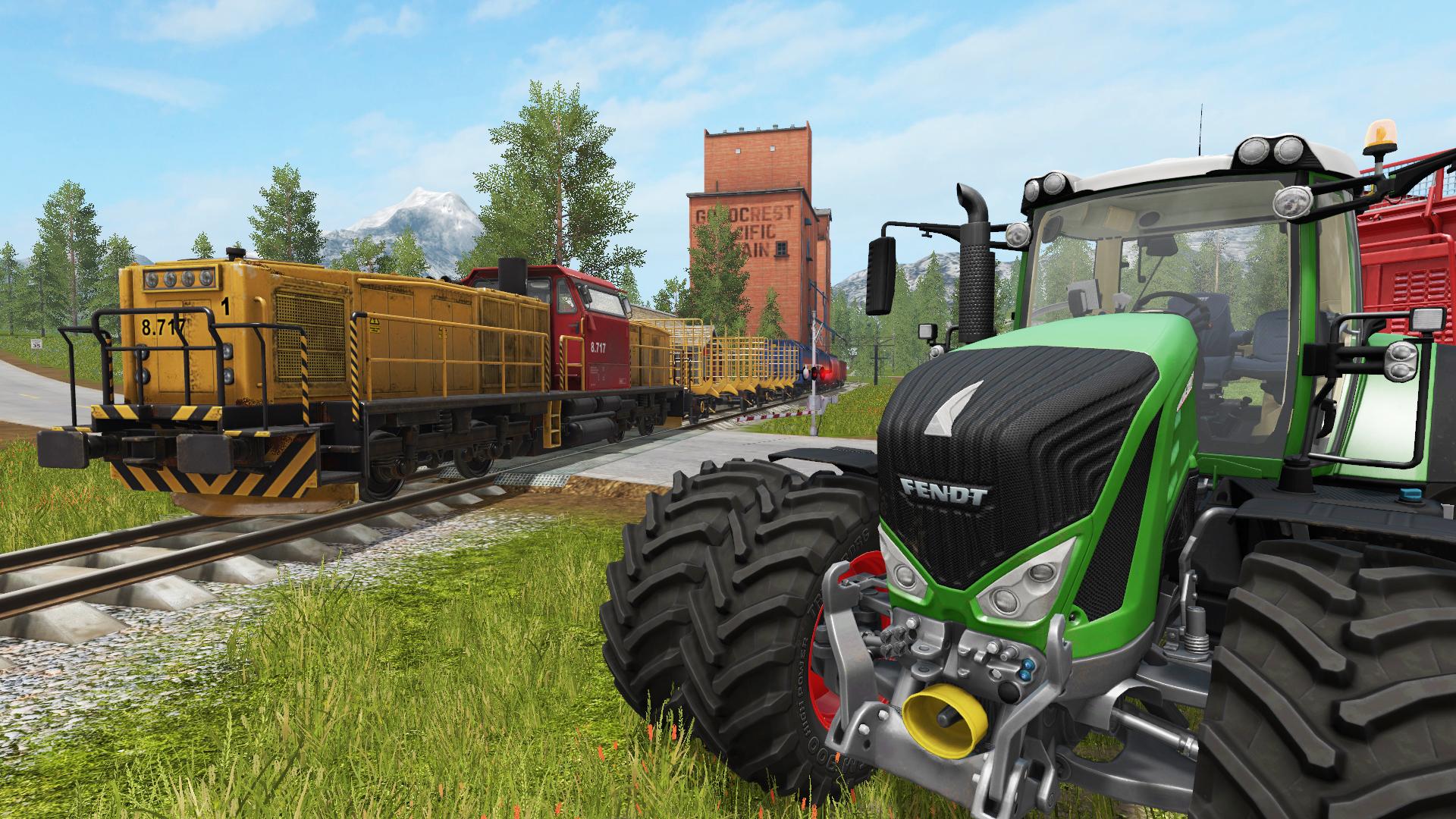 模拟农场 Farming Simulator 19 1.6.0 Mac 破解版 - 农耕模拟游戏