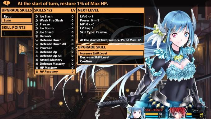 Winged Sakura: Demon Civil War Screenshot 2