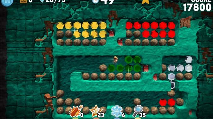 Boulder Dash - 30th Anniversary Screenshot 1