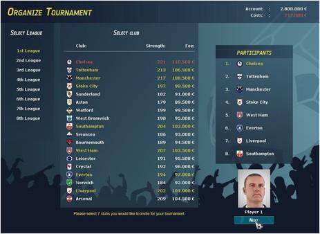 Club Manager 2017 Screenshot