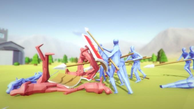 Totally Accurate Battle Simulator Screenshot 2