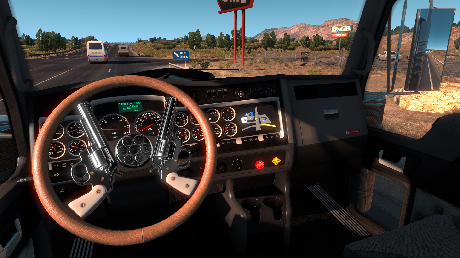 Euro Truck Simulator 2 Steering Wheel Shifter - Year of