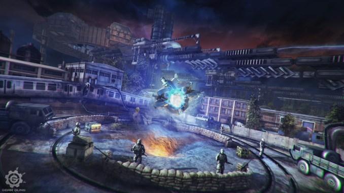 GEARGUNS - Tank offensive Screenshot 3