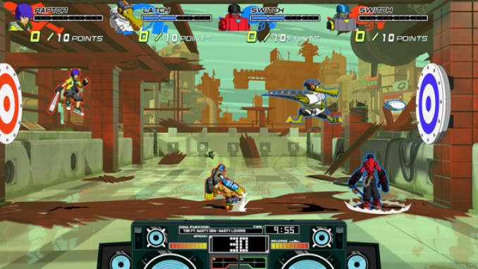 Lethal League Blaze Screenshot 1