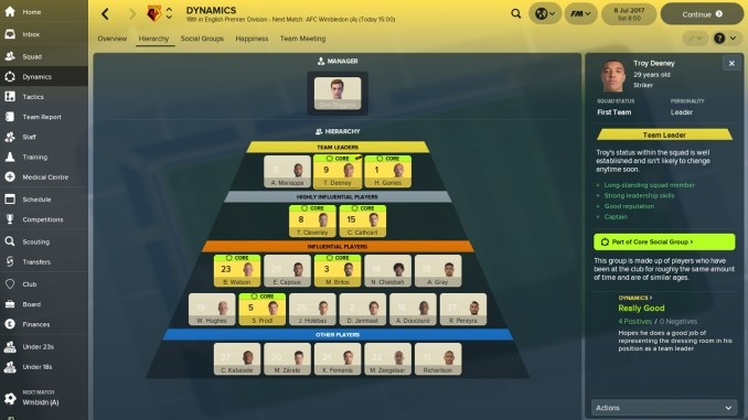 Football Manager 2018 Screenshot 2