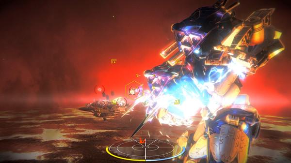 War Tech Fighters Screenshot