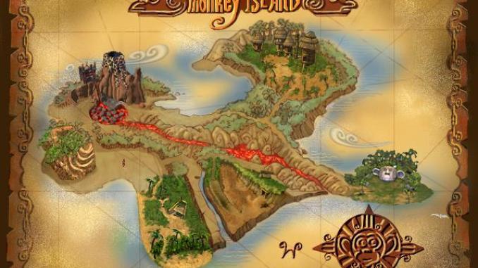 Escape from Monkey Island screenshot 2