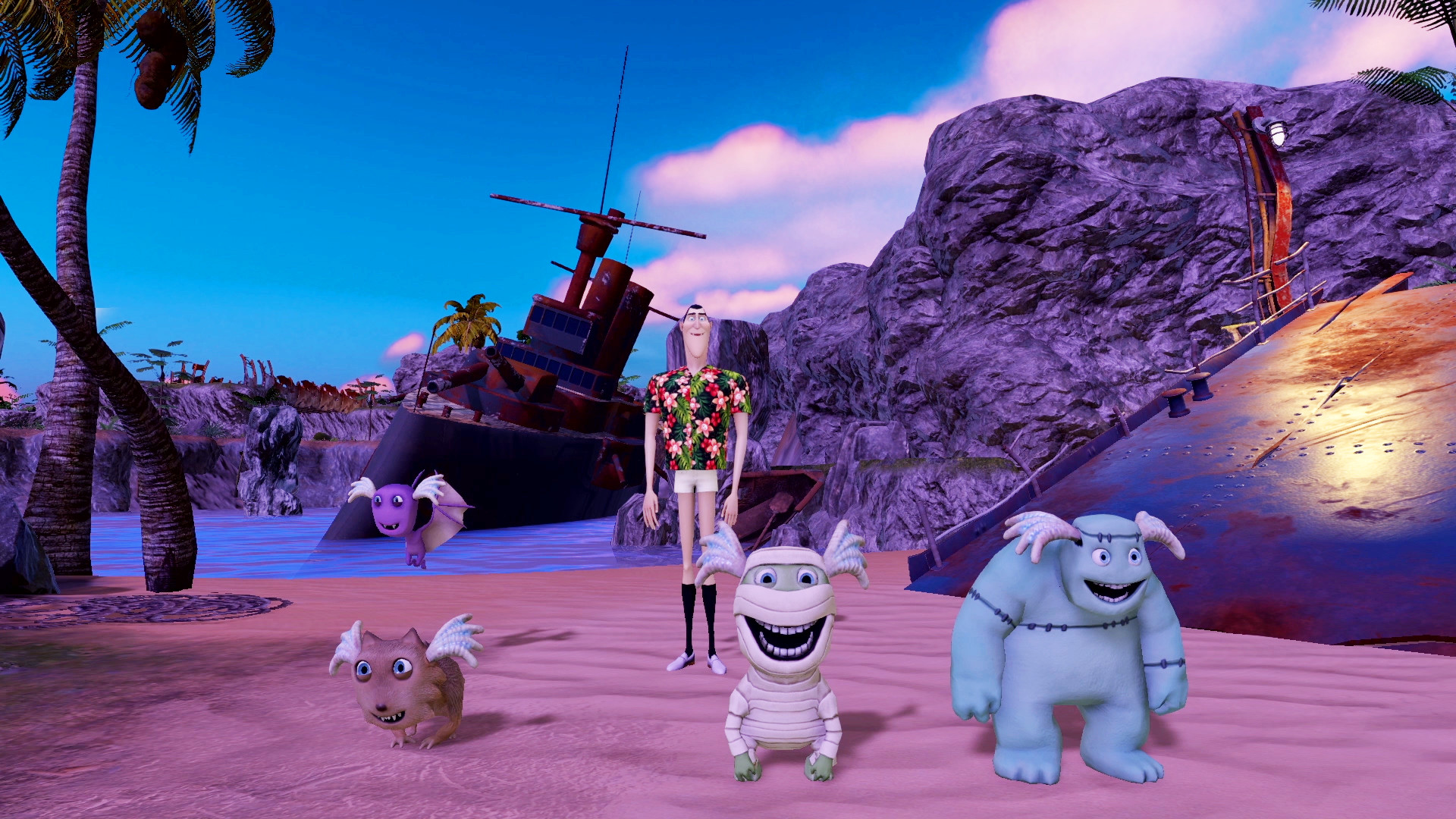 Hotel Transylvania 3 Monsters Overboard Steam