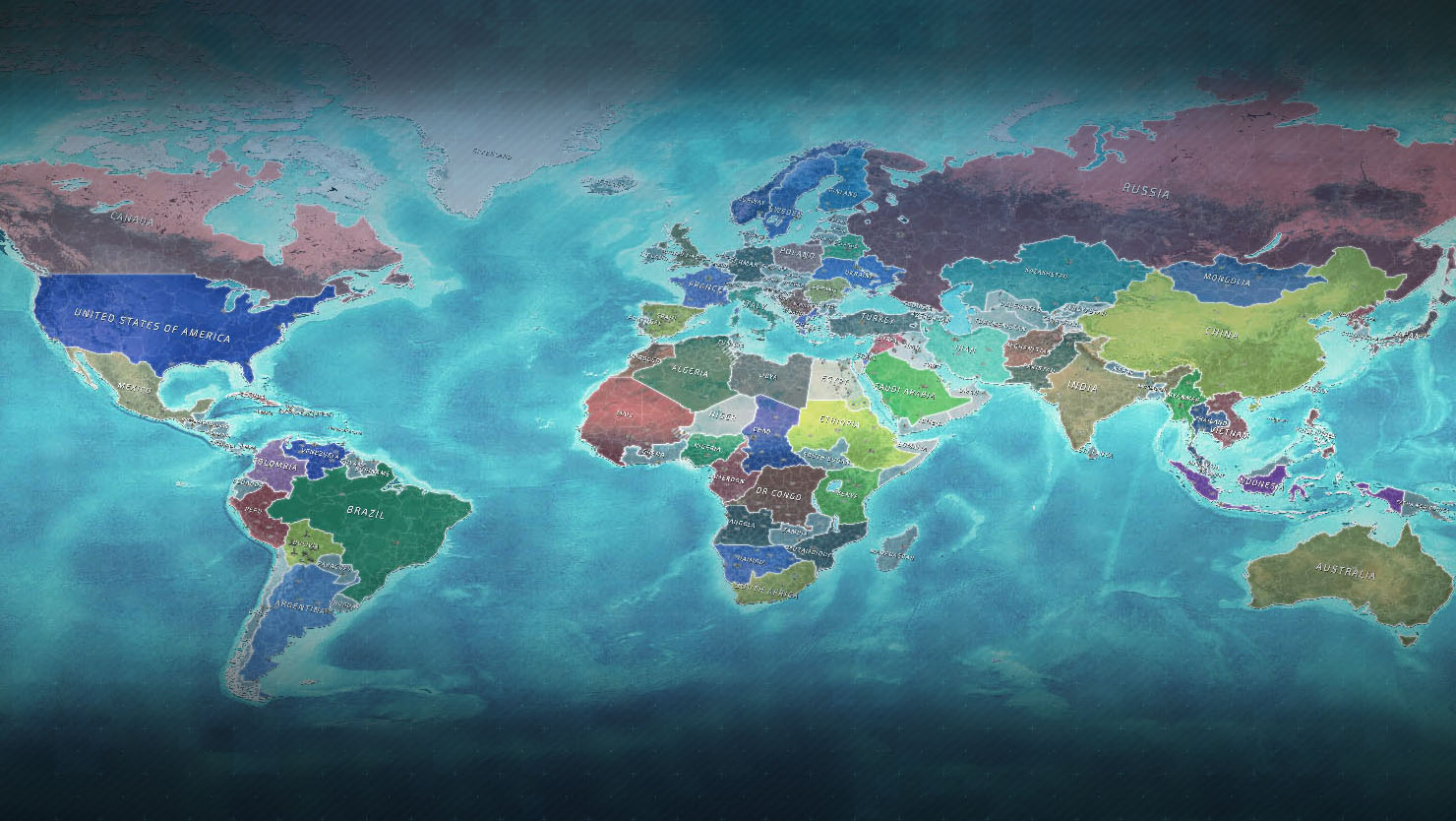 conflict of nations world