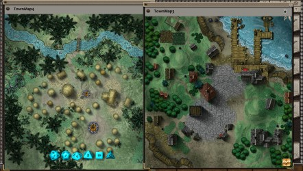 fantasy map village town grounds pack steam