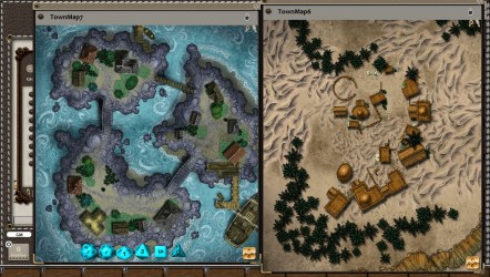 fantasy map town village grounds rpg app pack steam