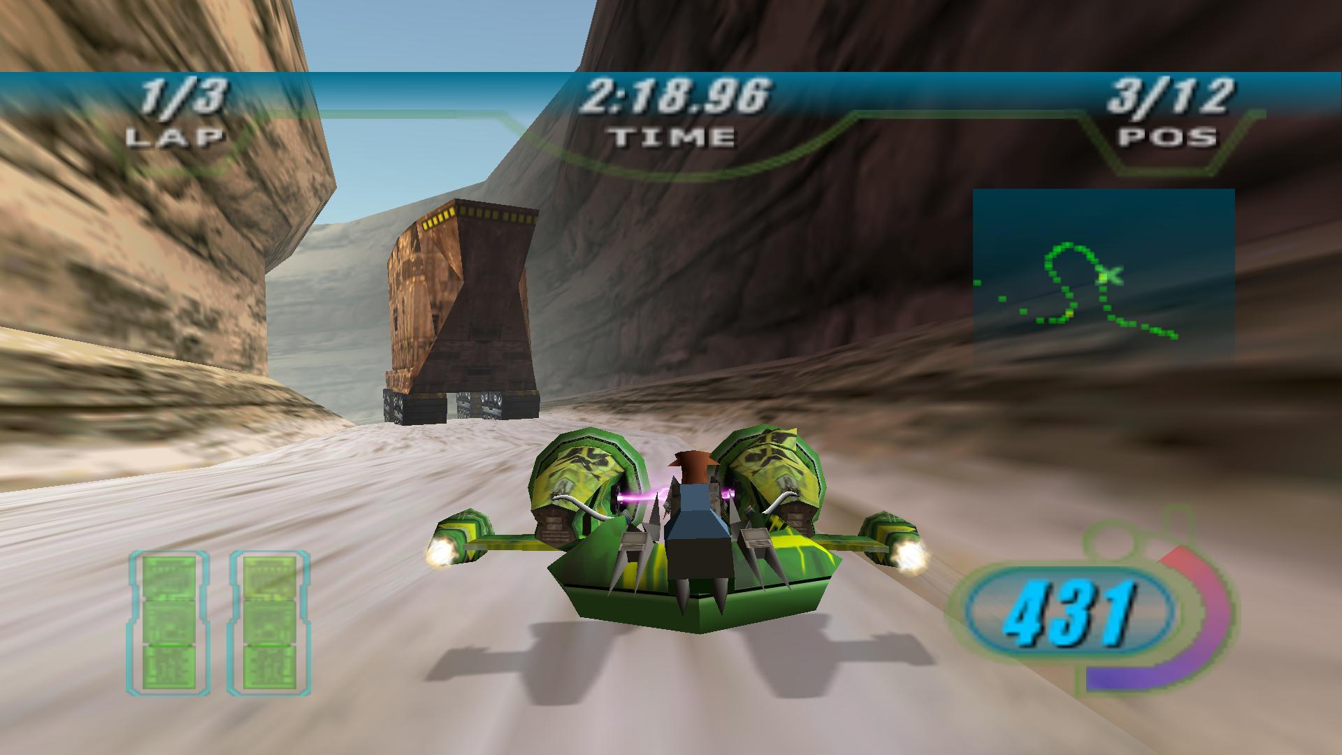 star wars pod racing n64