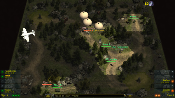 Find & Destroy: Tank Strategy Screenshot