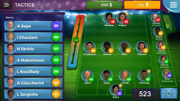 Women's Soccer Manager Screenshot