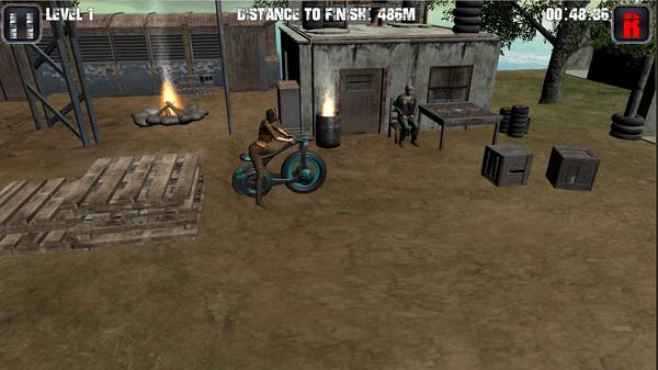 Motorcycle, tricycle, ATV hill racing Screenshot